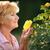 kıdemli · kadın · bahçıvanlık · pot · çiçekler - stok fotoğraf © gromovataya