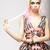 красное · платье · портрет · молодые · красивой · женщину - Сток-фото © gromovataya