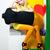 mulher · amarelo · vestir · moda · espelho - foto stock © gromovataya