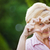 Positivity. Happy Funny Senior Woman Showing Symbol of Heart stock photo © gromovataya