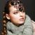 Braided Hair Luxurious Woman in Fur Collar and Gemstones. Jewels stock photo © gromovataya