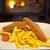 2 · フランス語 · グルメ · 黄色 · 孤立した · 白 - ストックフォト © gsermek