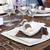 wedding dinner detail in white and brown stock photo © gsermek