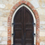 oude · stappen · Italië · klooster · licht · achtergrond - stockfoto © gsermek