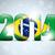 brasil · 2014 · mundo · futebol · campeonato · abstrato - foto stock © gubh83