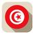 kaart · Tunesië · vlag · maan · achtergrond · teken - stockfoto © gubh83