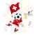 piłkarz · piłka · młodych · gry · szczęśliwy - zdjęcia stock © gubh83