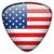 ABD · bayrak · parlak · düğme · vektör · cam - stok fotoğraf © gubh83