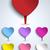 mutlu · babalar · günü · kırmızı · ikon · düğme · vektör · dizayn - stok fotoğraf © gubh83