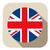 UK Flag Button Icon Modern stock photo © gubh83