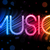 music party abstract colorful waves on black background stock photo © gubh83