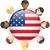 EUA · bandeira · botão · Estados · Unidos · américa - foto stock © gubh83