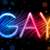 homo · trots · abstract · kleurrijk · golven · zwarte - stockfoto © gubh83