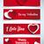 dört · afiş · grafik · sevgililer · günü · örnek · düğün - stok fotoğraf © gubh83