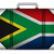 south africa travel luggage with flag for vacation stock photo © gubh83