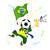 África · do · Sul · esportes · ventilador · bandeira · chifre · vetor - foto stock © gubh83