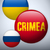 ukraine and russia conflict for crimea icon stock photo © gubh83