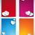 dia · dos · namorados · colorido · coração · banners · conjunto · projeto - foto stock © gubh83