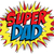 happy father day super hero dad stock photo © gubh83