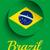 Brazylia · 2014 · litery · banderą · wektora · sportu - zdjęcia stock © gubh83