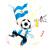 アルゼンチン · サッカー · ファン · フラグ · 漫画 · ベクトル - ストックフォト © gubh83