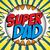 süper · kahraman · baba · mutlu · babalar · günü · vektör · aile · gülümseme - stok fotoğraf © gubh83
