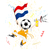 Holanda · esportes · ventilador · multidão · bandeira · vetor - foto stock © gubh83