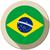 brazil flag button icon modern stock photo © gubh83
