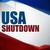 zárva · Egyesült · Államok · Amerika · vektor · háttér · zászló - stock fotó © gubh83