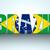 Brazylia · banner · ikona · strony · piłka · nożna · szczęśliwy - zdjęcia stock © gubh83