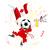 grunge · fútbol · vector · balón · de · fútbol · deporte · fútbol - foto stock © gubh83