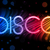 disco abstract colorful waves on black background stock photo © gubh83
