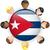 Cuba · vlag · witte · abstract · ontwerp · achtergrond - stockfoto © gubh83