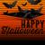 hátborzongató · halloween · sír · denevér · boldog · kereszt - stock fotó © gubh83