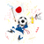 Japão · esportes · ventilador · multidão · bandeira · vetor - foto stock © gubh83