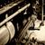 oude · zwarte · stoomlocomotief · wielen · spoorweg · track - stockfoto © guffoto
