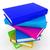 színes · igazi · könyvek · fehér · papír · iskola - stock fotó © guru3d