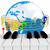 музыку · знак · 3D · иллюстрация - Сток-фото © guru3d