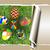 çiçek · paskalya · yumurtası · çim · yırtılmış · yırtık · kağıt · kâğıt - stok fotoğraf © Guru3D