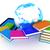 カラフル · 本当の · 図書 · 白 · 紙 · 学校 - ストックフォト © guru3d