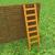 лестнице · кирпичная · стена · зеленая · трава · трава · стены · краской - Сток-фото © Guru3D