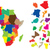 Nigeria · grunge · tekst · działalności · tle - zdjęcia stock © hamik