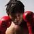 Male boxing fighter stock photo © handmademedia