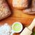 sütés · kenyér · fa · deszka · liszt · olívaolaj · tő - stock fotó © hansgeel