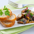 gomba · előétel · asztal · villa · kenyér - stock fotó © hansgeel