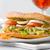 egészséges · szendvics · finom · zöldségek · étel · friss - stock fotó © hansgeel
