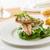 makréla · saláta · finom · zöldbab · rakéta · levelek - stock fotó © hansgeel