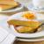 szeletek · citrom · torta · tányérok · asztal · tányér - stock fotó © hansgeel