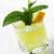 citrom · menta · ital · üveg · friss · jég - stock fotó © hansgeel