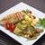 frango · grelhado · peito · legumes · jantar · garfo · branco - foto stock © hanusst